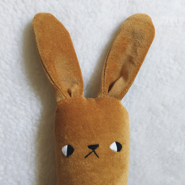 Dijon the velveteen bunny - Made to Order - sleepy king