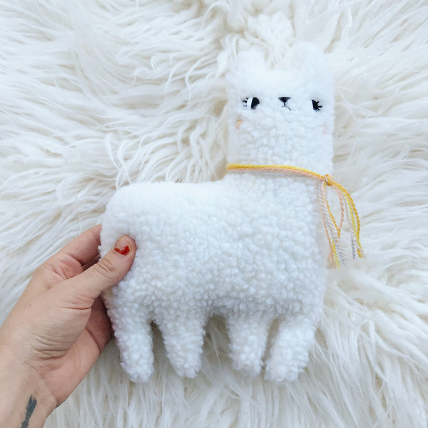 Moon Pie the alpaca - Ready to ship - sleepy king