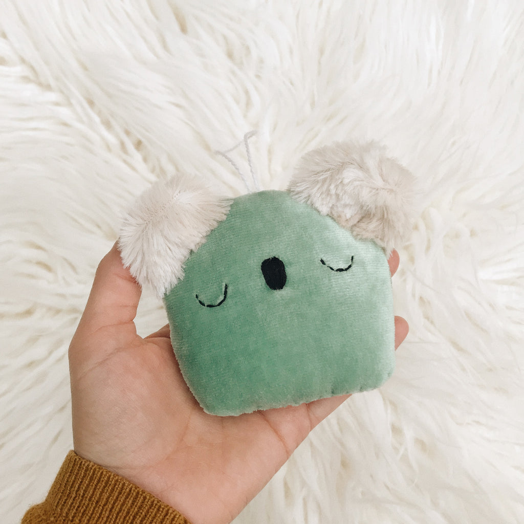 Seafoam Green Koala Ornament - sleepy king