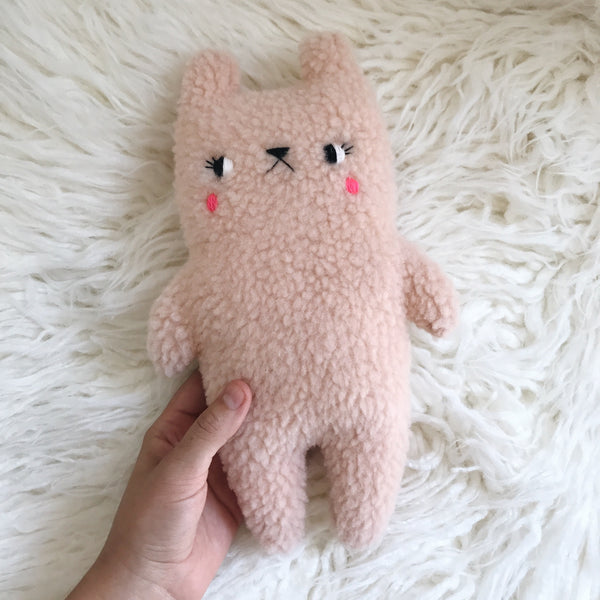 Strawberry CreamPuff the bear - Pre Order - 4 more available! - sleepy king