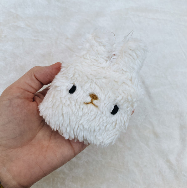 Bunny Ornament - Hand dyed Organic