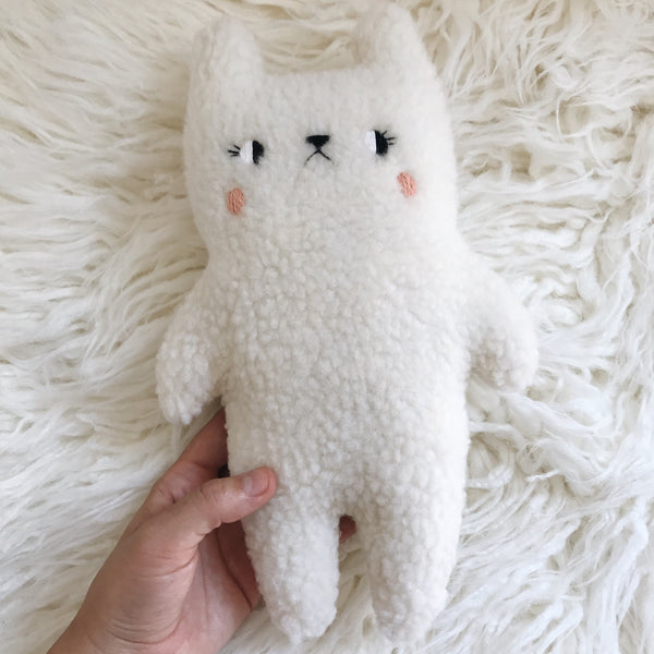 Marshmallow Puff the fuzzy bear - PRE ORDER