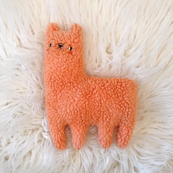 Melon the Alpaca - sleepy king