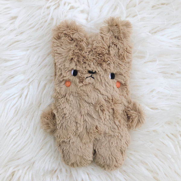 Brownie Bear - luxe minky fur