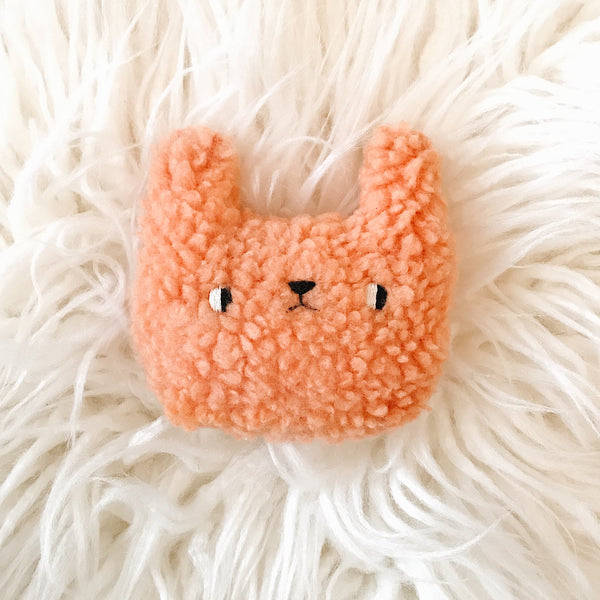 Pomelo the Bunny - Pocket plushie - sleepy king