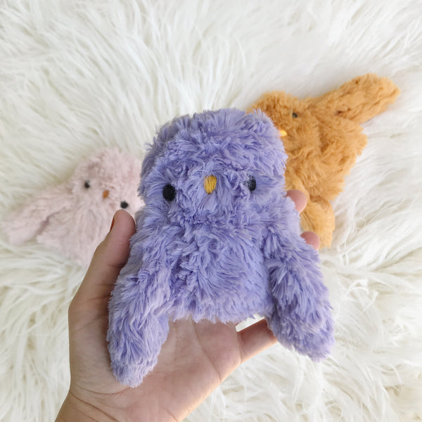 Lavender spring owlet - Ready to ship - sleepy king