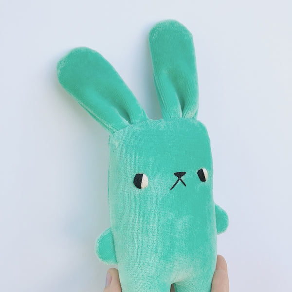 Minty the bunny - Ready to ship - sleepy king