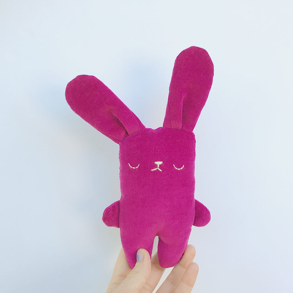 Plum the bunny - Ready to ship - sleepy king