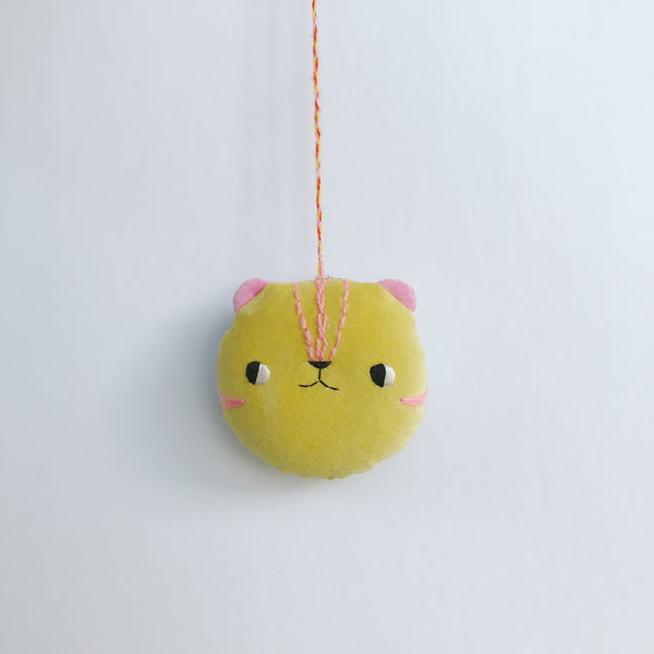 Lollipop the tiger - Wall hanging / Ornament - Ready to ship - sleepy king
