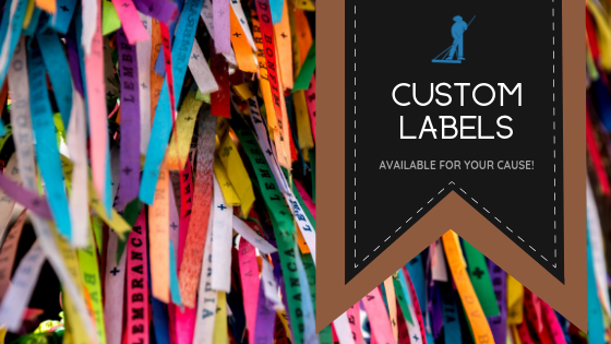 Custom Labels - Available for Your Cause