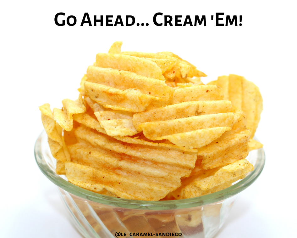 Le Caramel and National Potato Chip Day—A Savory-Sweet Combination