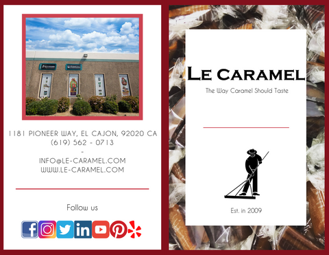 Le Caramel Brochure - Outside