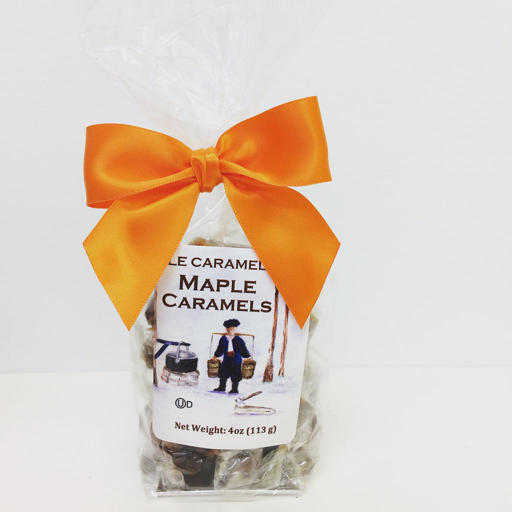 maple caramel candies