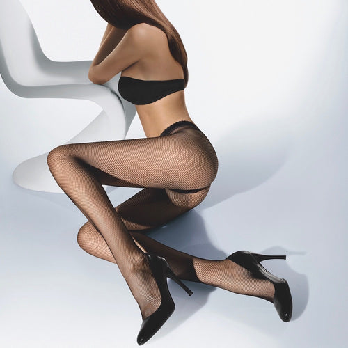 Wolford Twenties Tights black teddies for bettys