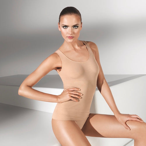 Wolford Opaque Natural Forming Top powder teddies for bettys