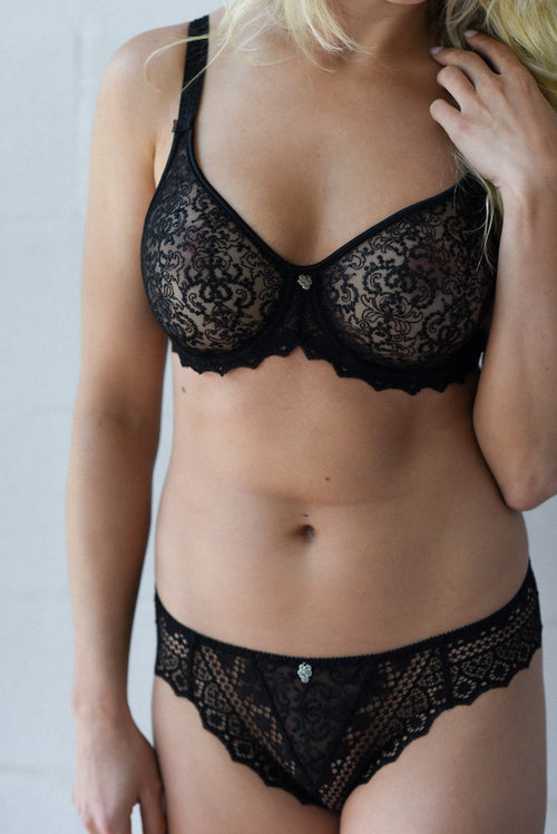 empreinte cassiopee molded seamless full cup bra black teddies for Bettys