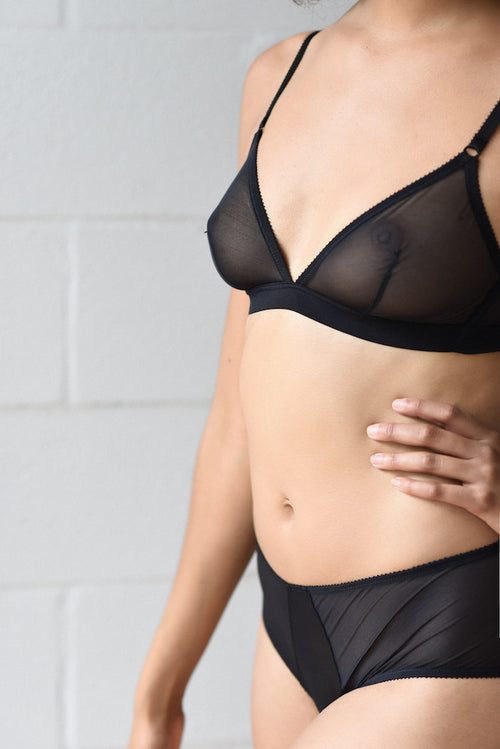 Epure Revelation Beaute Shorty Noir teddies for bettys