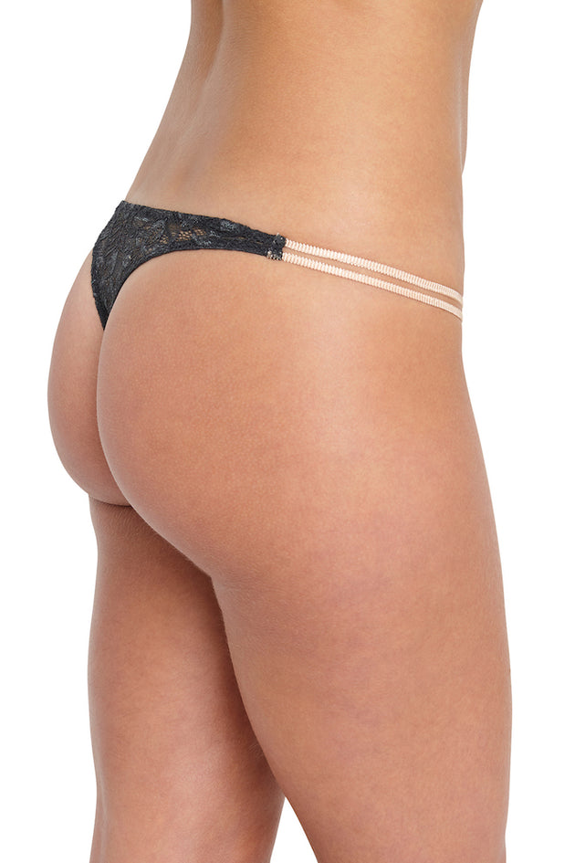 Eberjey Everly The Double String Thong