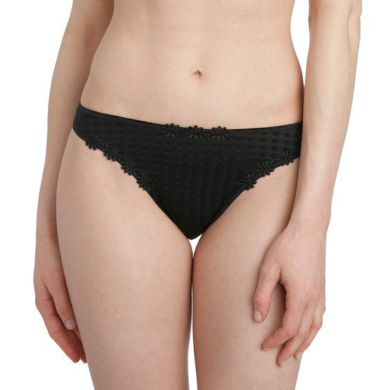 marie jo avero thong panty black teddies for bettys