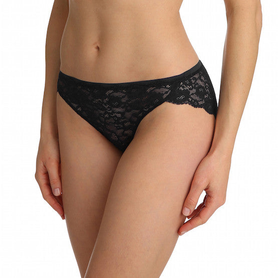 marie jo color studio lace rio bikini panty black teddies for bettys