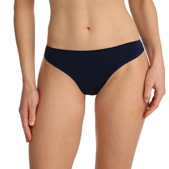 marie jo color studio thong panty sapphire blue teddies for bettys
