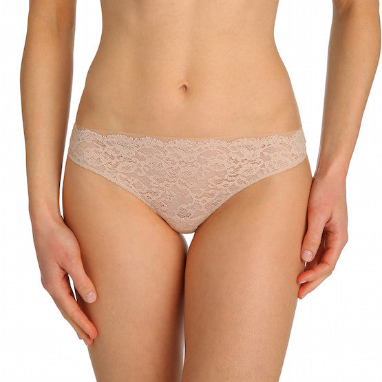 marie jo color studio lace thong panty caffe latte teddies for bettys