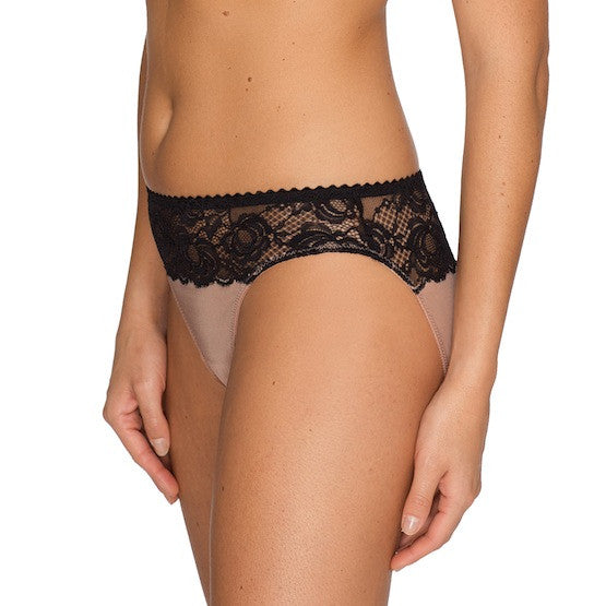 prima donna by night rio bikini panty black cream teddies for bettys