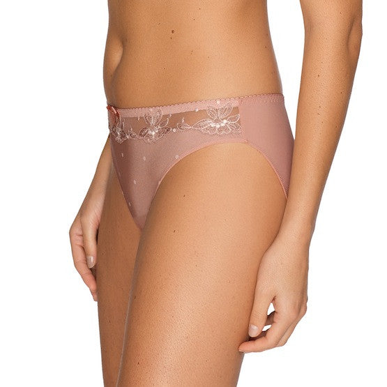 prima donna sunrise rio bikini panty powder rose teddies for bettys