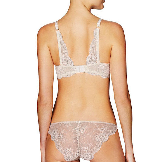 stella mccartney stella smooth & lace nude padded soft bra teddies for bettys