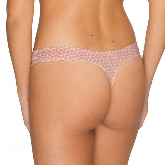 twist happiness pink thong panty teddies for bettys