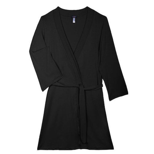 cosabella talco anouck robe black teddies for bettys