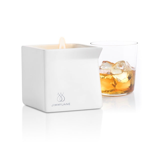 jimmyjane afterglow massage oil candle bourbon teddies for Bettys