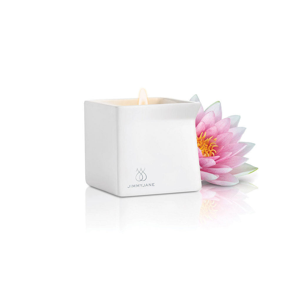 Jimmyjane Afterglow Massage Candle-Pink Lotus
