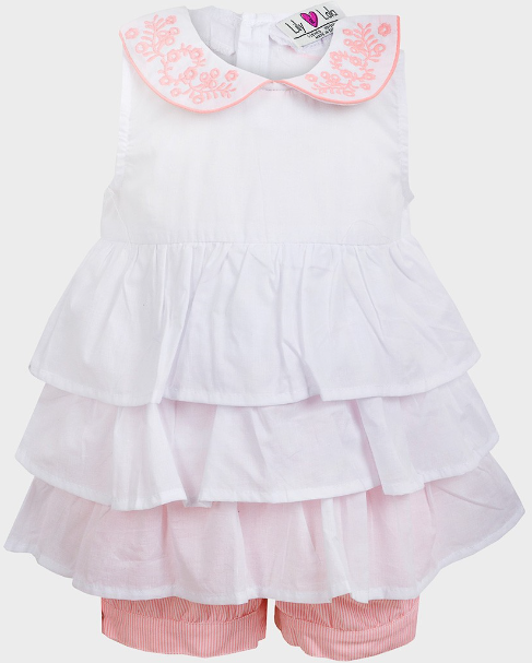 "Lily & Lola"" Girls 2-piece Summer Set"