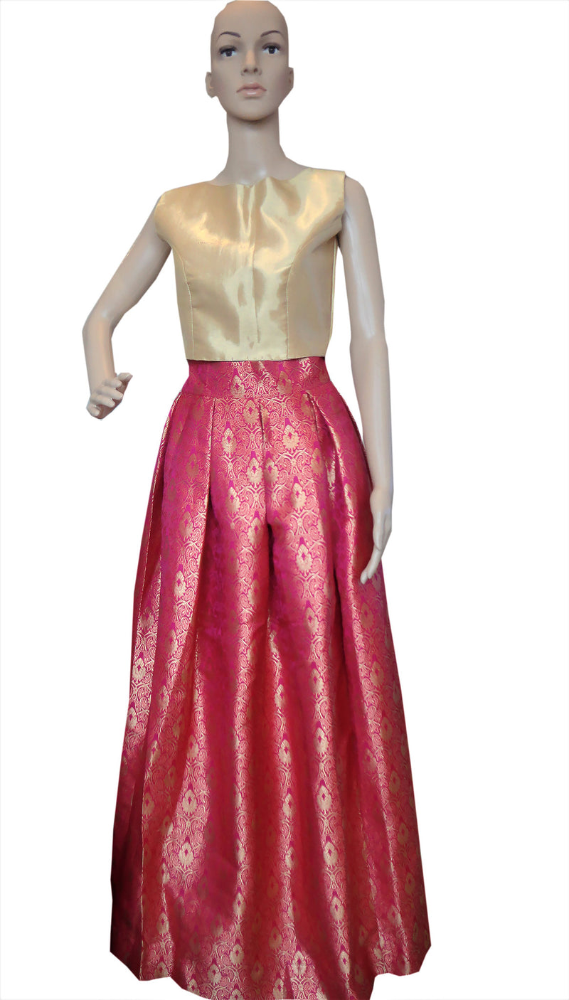 Banarsi Silk Skirt