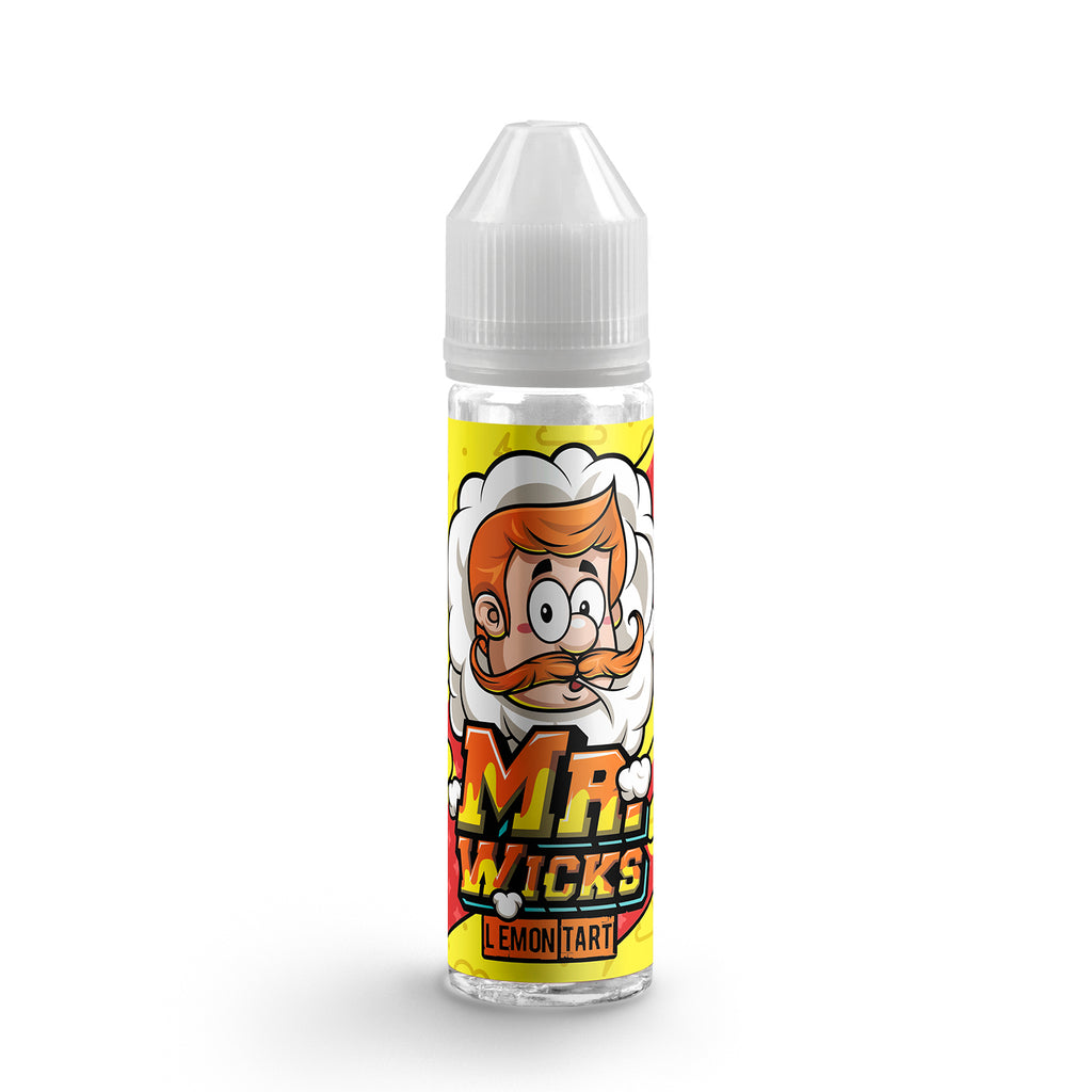 Lemon Tart E-Liquid by Mr Wicks - 50ml 0mg