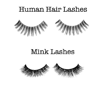 Milant human hair lashes vs mink lashes milant beauty human hair lashes vs mink lashes pmusecretfo Image collections