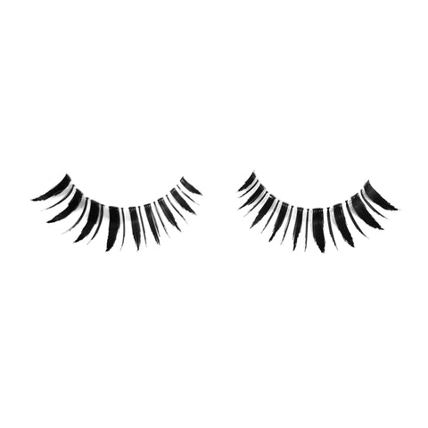 Frisky false lashes fake eyelashes vegan human hair