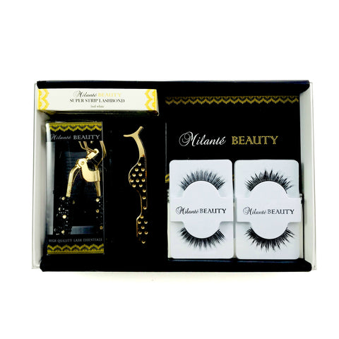 Human Hair Lashes Travel Size Lash Case Gift Set