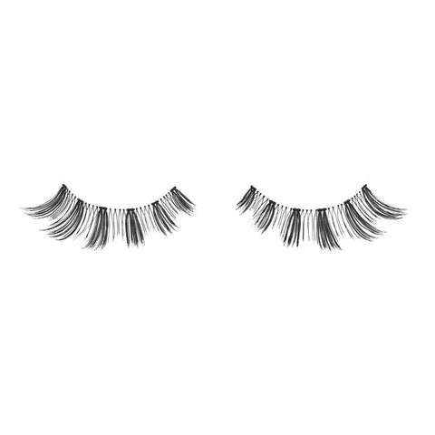 Luscious false lashes fake eyelashes vegan human hair