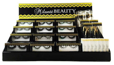 Fully Stocked Retail Lash Display