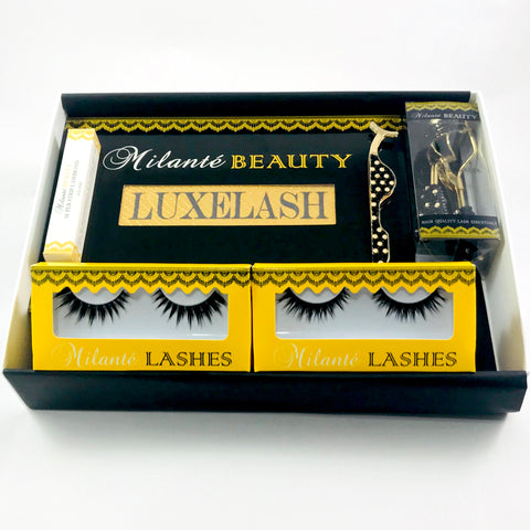 Double Layer Synthetic Fiber Lash Gift Set