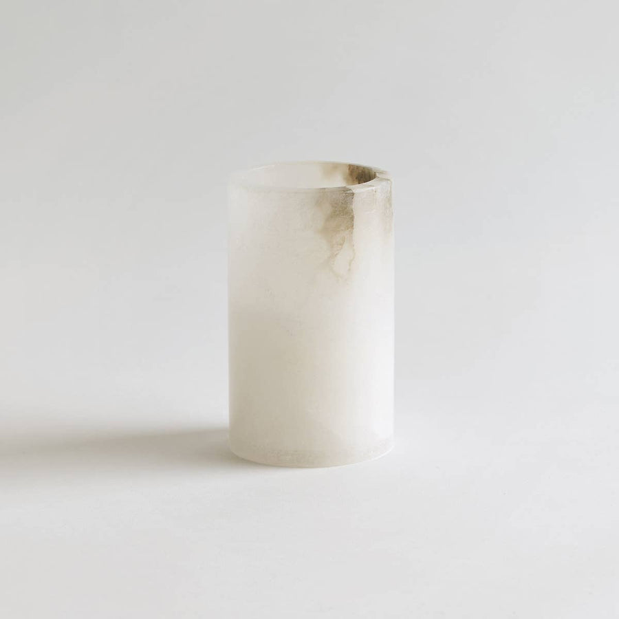 Alabaster Tall Votive