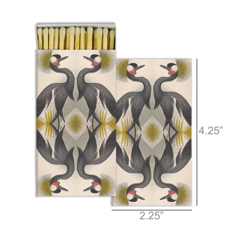 CRESTED CRANES MATCHES
