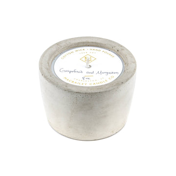 Grapefruit & Mangosteen 8oz Concrete Candle