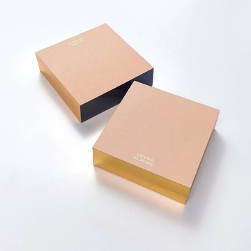 BLUSH ColorPad with Gilded edge - SMALL SQUARE