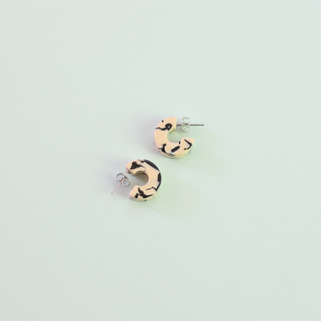 Mali Earrings In Marble