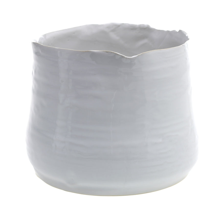 TEGAN PLANTER / WHITE