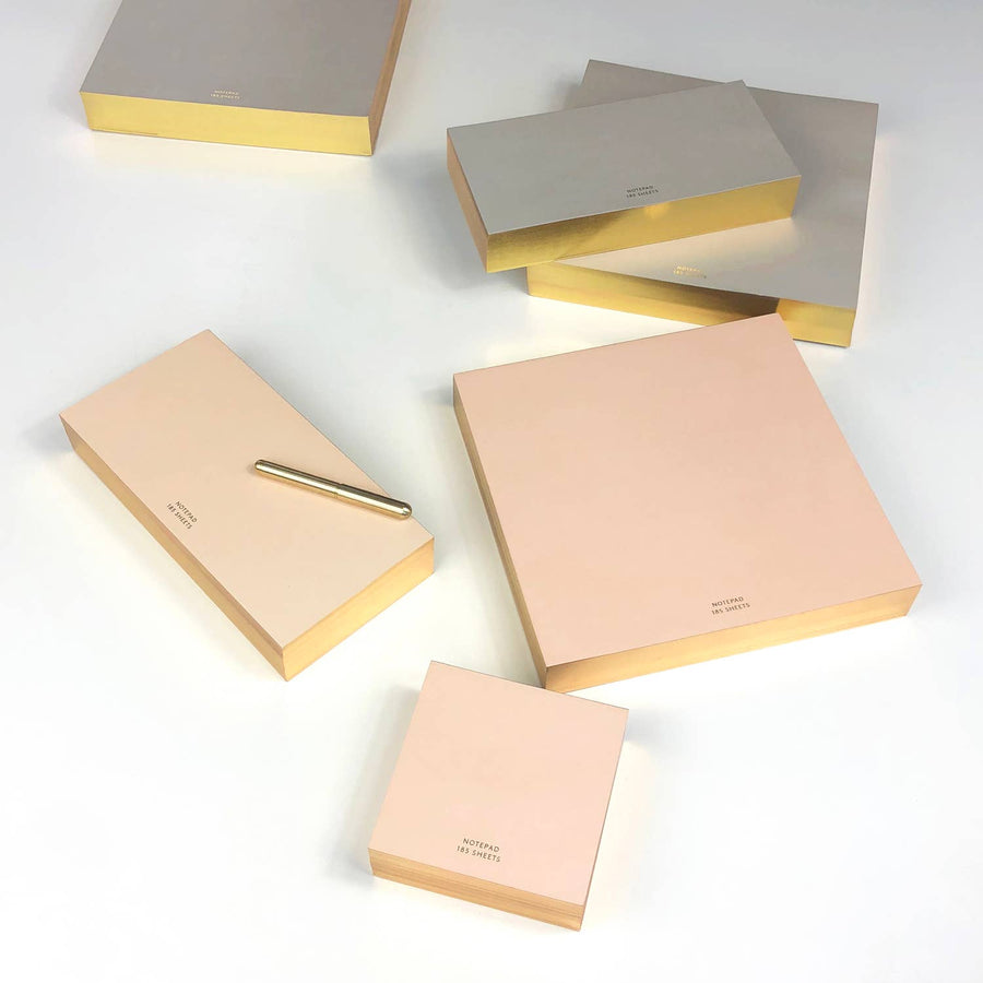 GREIGE ColorPad with Gilded edge - MEDIUM LONG