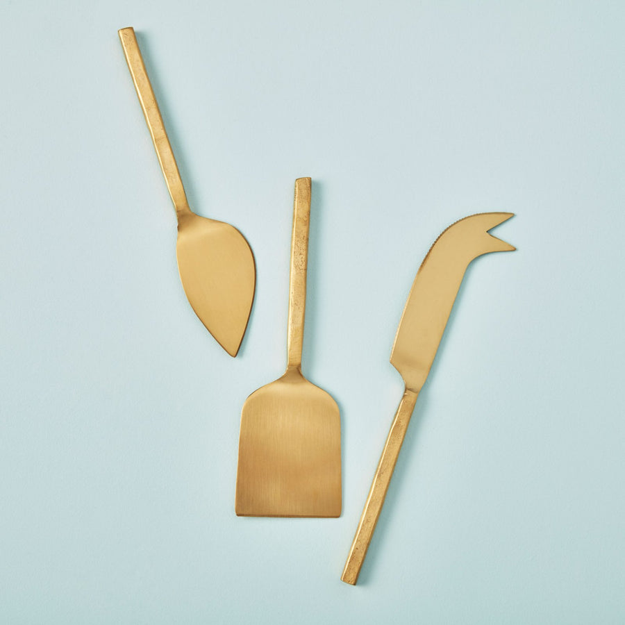 Forged Gold Cheese Tools